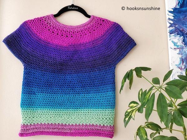 crochet The Lollipop Top free pattern