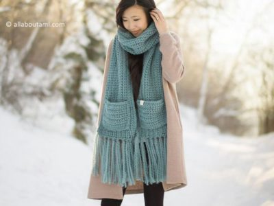 crochet The Willow Scarf free pattern