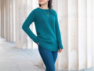 crochet Weekend Snuggle Sweater free pattern