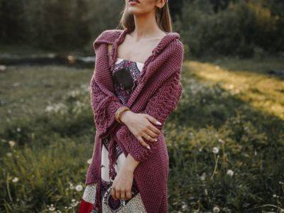 crochet Women Boho Cardigan easy pattern