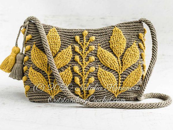 Capsella Crochet Bag easy pattern