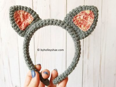 Crochet Animal Headband free pattern