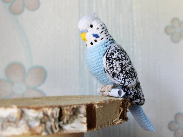 Crochet budgie easy Pattern