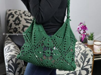 crochet 4luck Market Bag free pattern