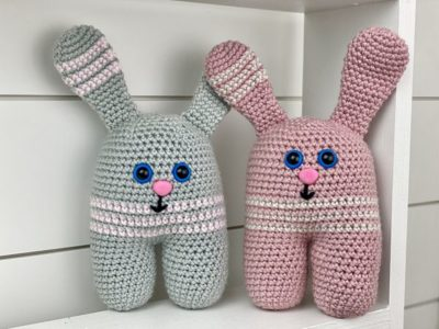 crochet Ava Bunny free pattern