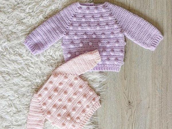 crochet Lola Jumper easy pattern