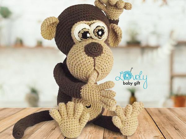 crochet Monkey Amigurumi Pattern easy pattern