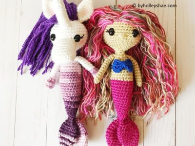 crochet My Lovely Mermaid Set free pattern