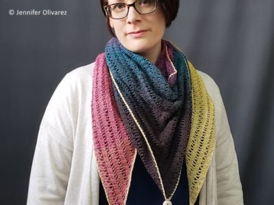 crochet On Top of the Mountain Shawl free pattern