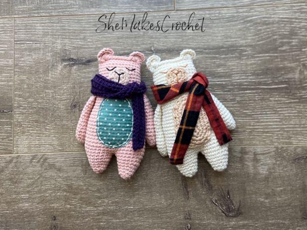 crochet Rag Doll Bear free pattern