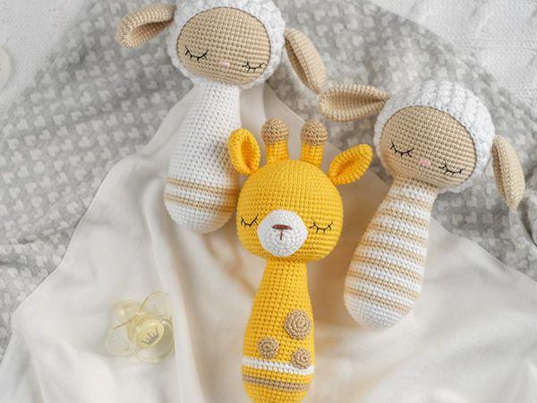 crochet Rattle Amigurumi Toys easy pattern