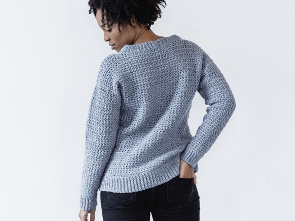 crochet Rochester Pullover free pattern