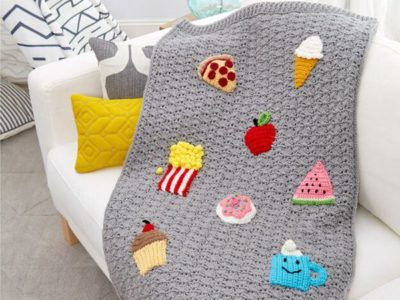 crochet SNACK SNUGGLE SACK free pattern
