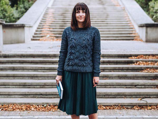 crochet Semarah Sweater easy pattern