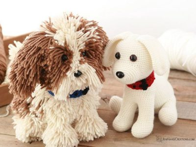 CROCHET PUPPY DOG free pattern