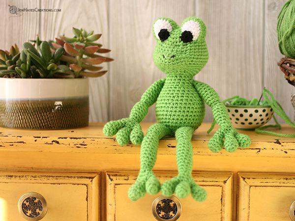 Crochet SMALL ANIMAL FROG free pattern