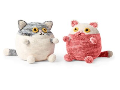 FAT CAT CROCHET STUFFIE free pattern