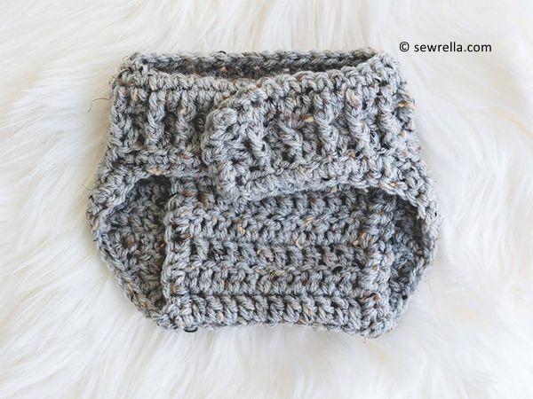Parker Crochet Diaper Cover free pattern