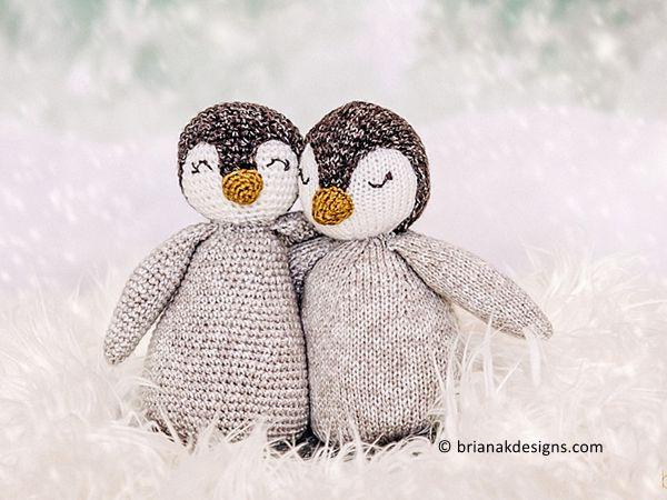 crochet Penguin Buddy free pattern