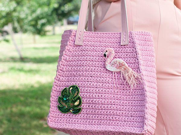 CROCHET Amelie Tote Bag easy pattern