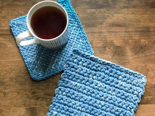 Easy Crochet Hot Pads free pattern