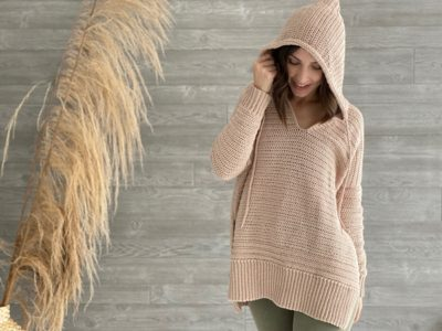 Happy At Home Hoodie free pattern