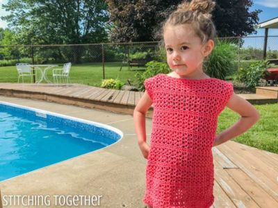 crochet Adelaide Girls Dress free pattern