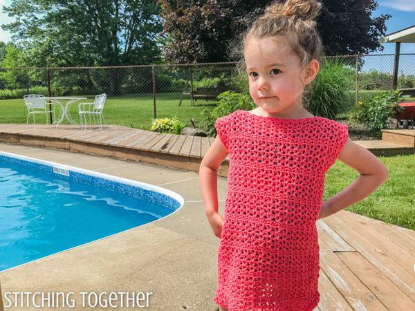 crochet Adelaide Girls Dress free pattern