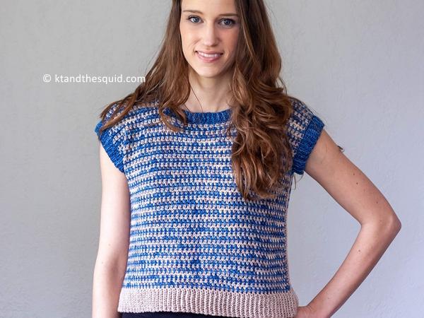 crochet Dina Tee Free Pattern