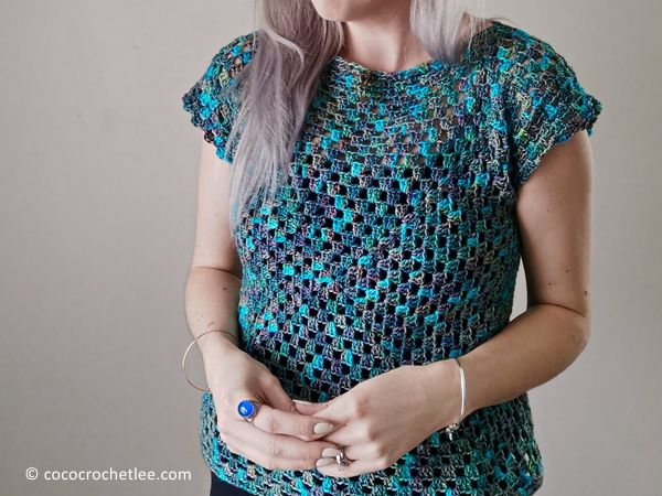 crochet Easy Cameo Top free pattern