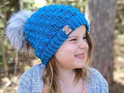 crochet Elmview Beanie free pattern