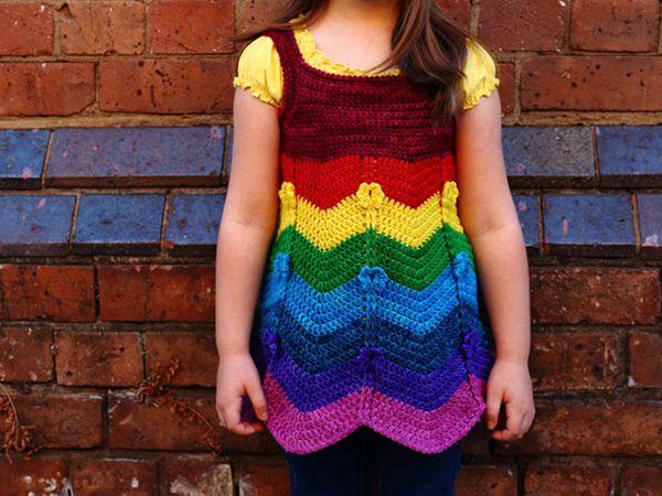 crochet Fiorella Dress easy pattern