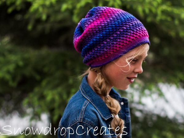 crochet Firefly Hat free pattern
