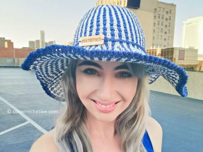 crochet Hat-Not-Hate Sunhat free pattern