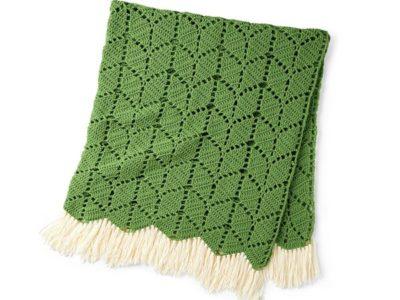 crochet IVY CROCHET BLANKET free pattern