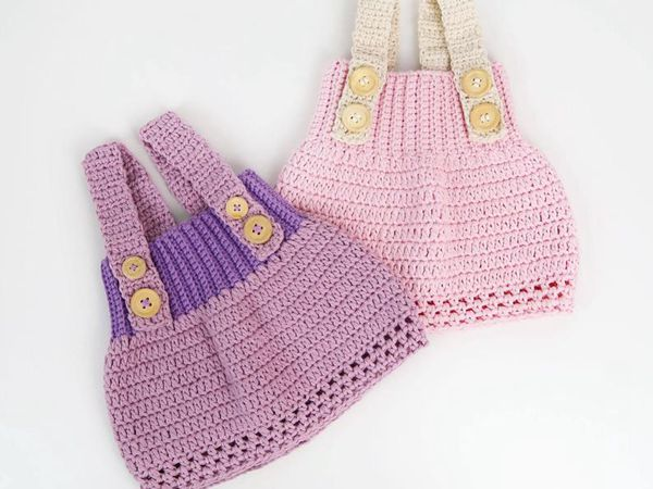crochet LITTLE PRINCESS baby dress pattern