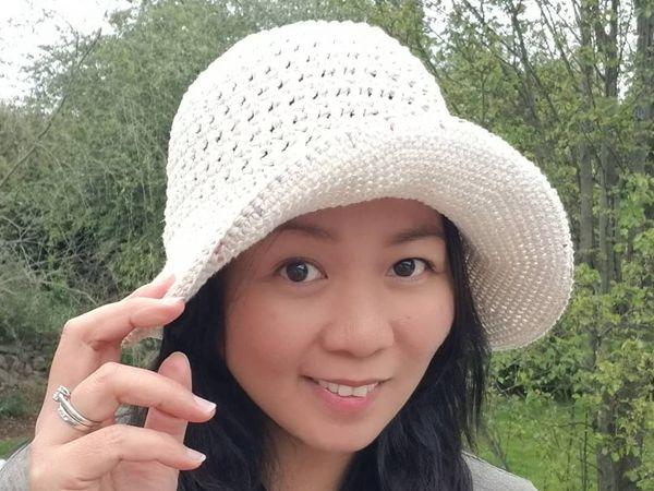 crochet My Favorite Sun Hat free pattern