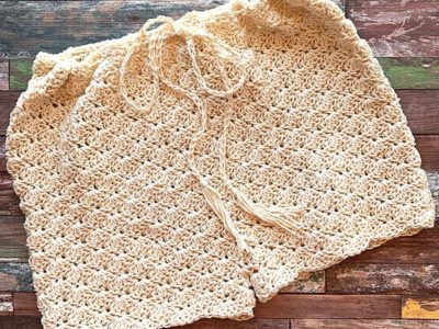 crochet Shell Shorts free pattern