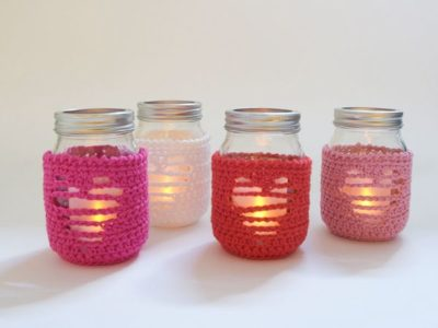 THE LOVE CROCHET JAR COZY free pattern