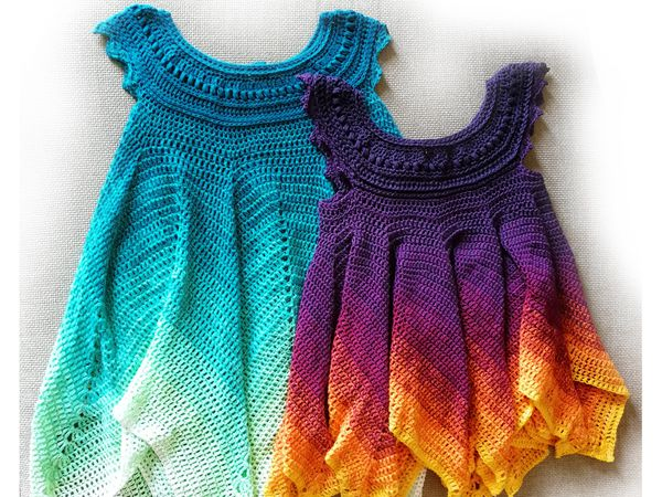 crochet Abigail Fairy Dress easy pattern
