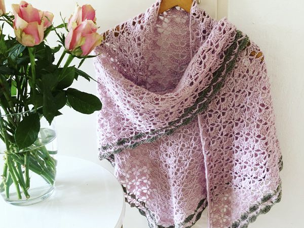 crochet Close to you Shawl free pattern