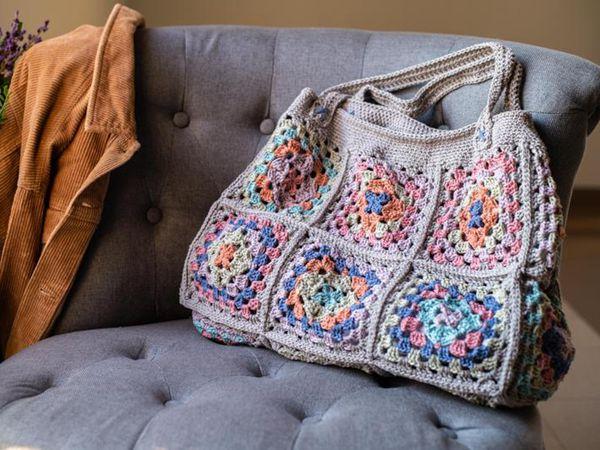 crochet Gretel Tote free pattern