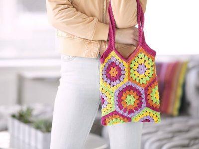 crochet Kaye Market Bag free pattern