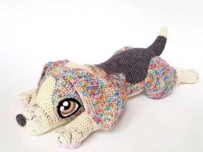 crochet Rocket the Beagle easy pattern