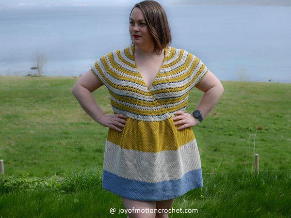 crochet Sunshine Daydream Dress free pattern