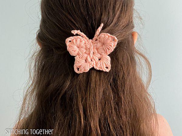 crochet Uma Beautiful Butterfly free pattern