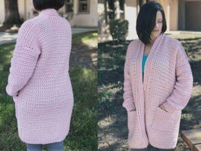 Cozy Crochet Cardigan Hygge Homebody Pattern