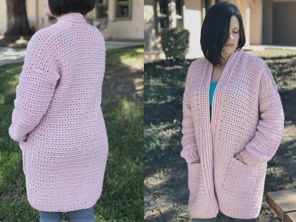 Cozy Crochet Cardigan Hygge Homebody Pattern