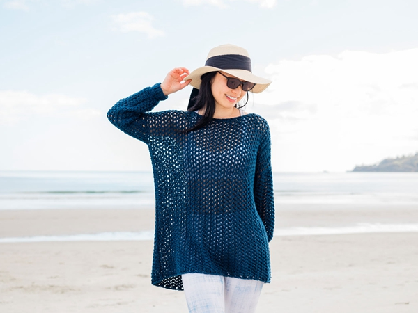 EASY BEACH COVER UP free pattern