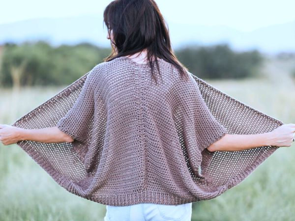 Vail Topper – Easy Crocheted Cardigan Pattern